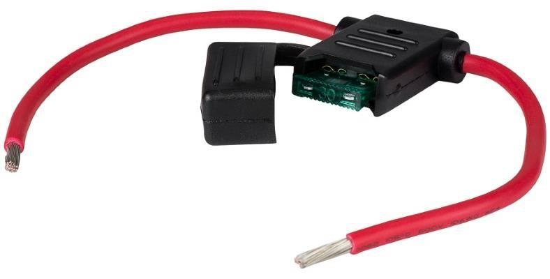 10 ga molded amp wiring kit fuse holder example