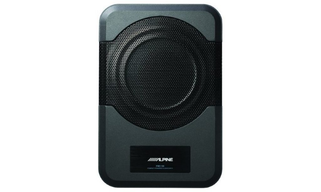 Image of Alpine Electronics PWE-S8 subwoofer top