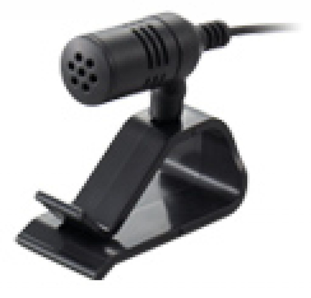 Alpine CDE-HD149BT included hands free microphone