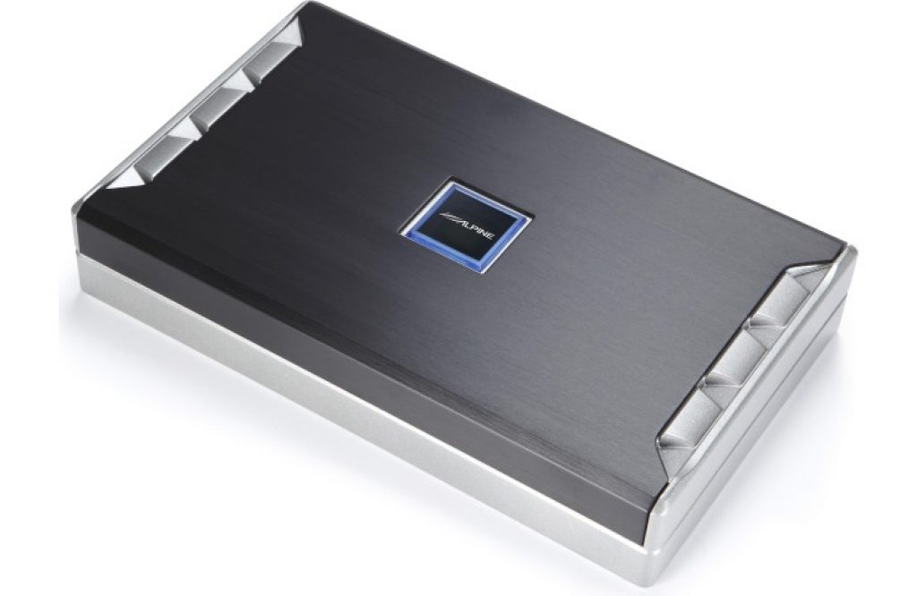 Alpine PDR-V75 5 channel amplifier (angle)