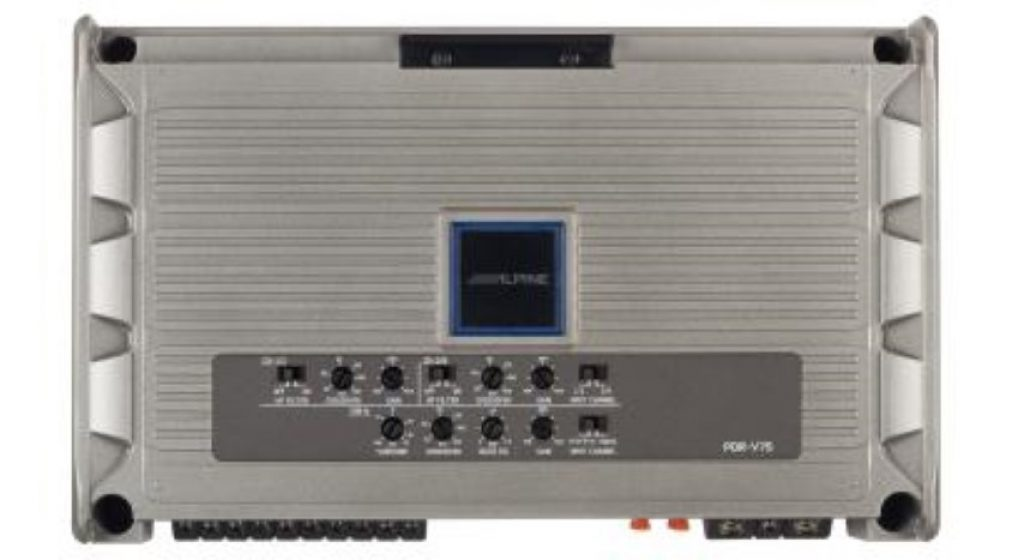 Alpine PDR-V75 5 channel amplifier (top)