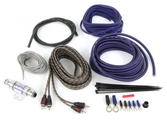 Belva BAK82BL amp wiring kit all included image
