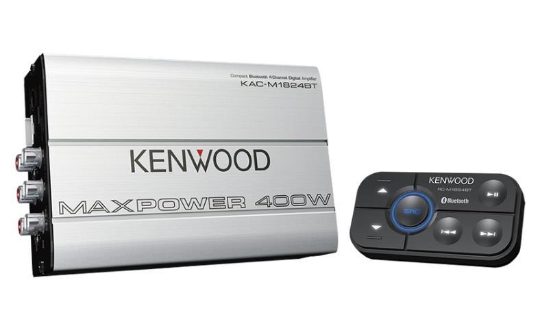 Kenwood KAC-M1824BT Bluetooth amplifier front image