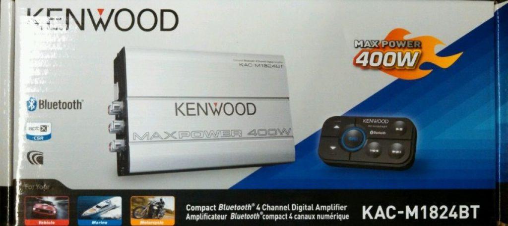 Image of Kenwood KAC-M1824BT amplifier in package