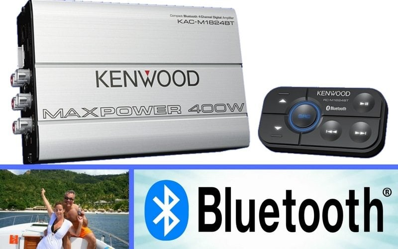 Kenwood KAC-M1824BT Review - A 4 Channel Bluetooth Marine ... on
