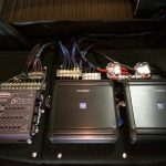 Image of 4 channel amps custom installed