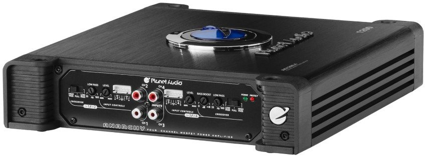 PLanet Audio AC1200.4 amp side