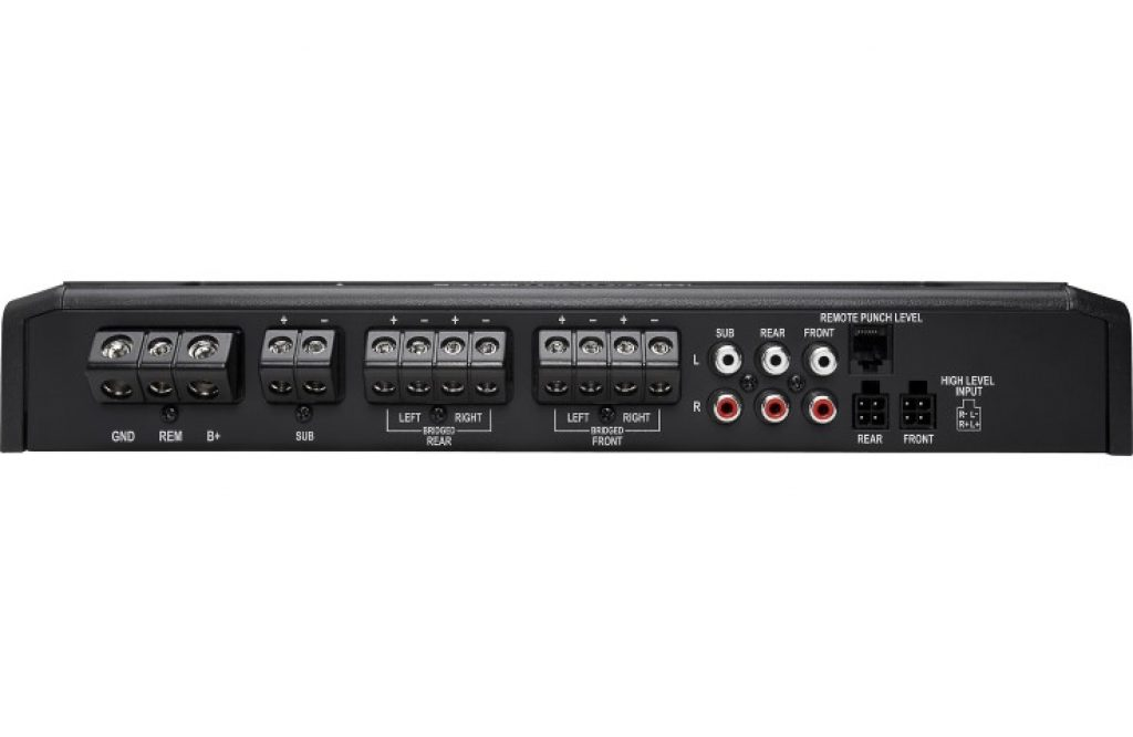 Rockford Fosgate R600X5 5 channel amp end