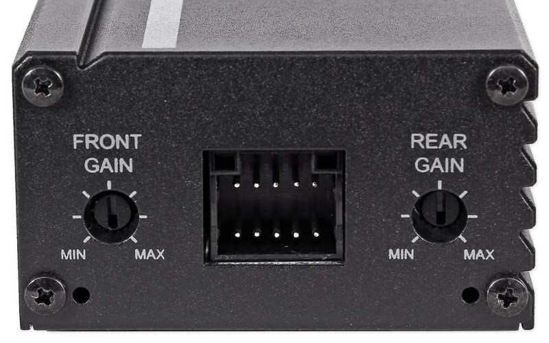 Image of Alpine KPA-445U mini amplifier controls