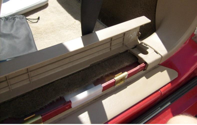 Door sill trim removal pic