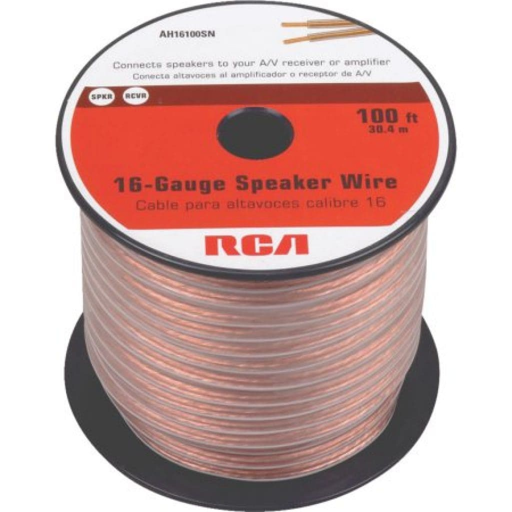 wire of 16 ga speaker wire