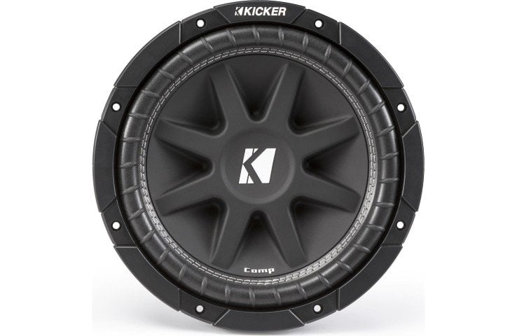 Kicker Comp Series 43C124 subwoofer front view