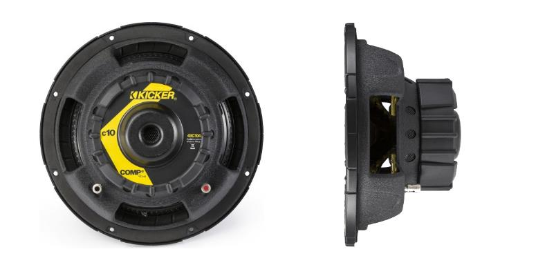 Kicker 43C214 rear and side product image