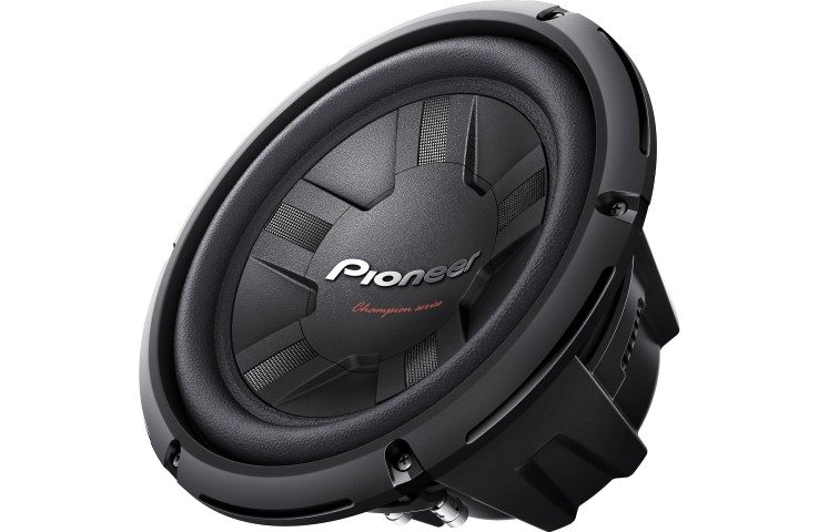 Pioneer TSW311S4 subwoofer side