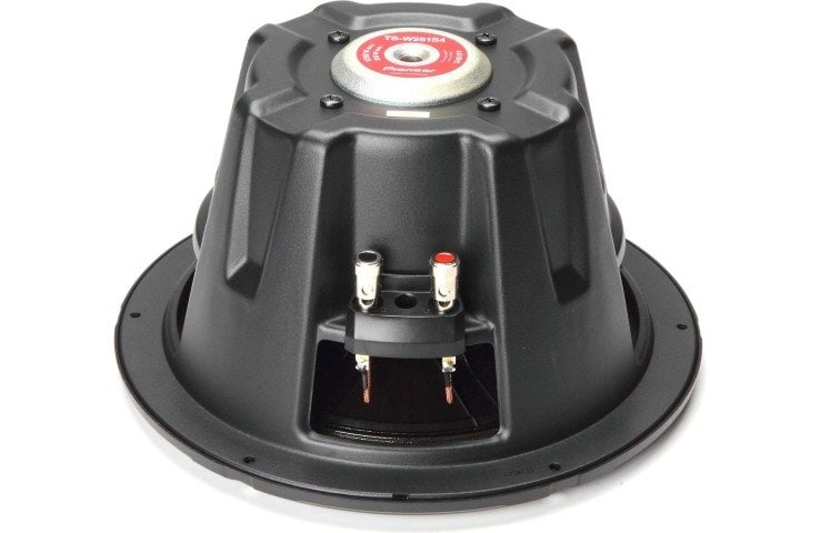 Pioneer TSW311S4 subwoofer side angle