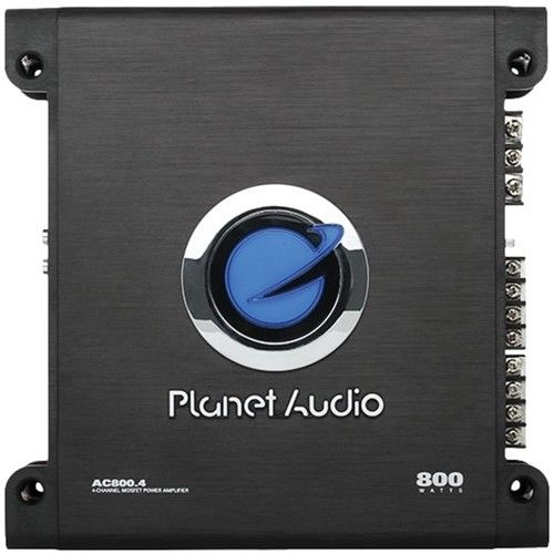 Planet Audio AC800.4 amp top