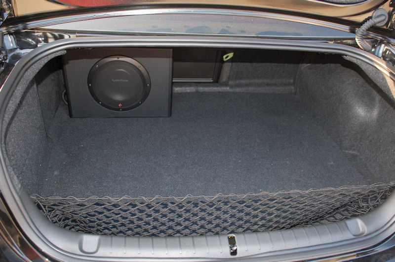 ockford Fosgate P300-12 in car trunk