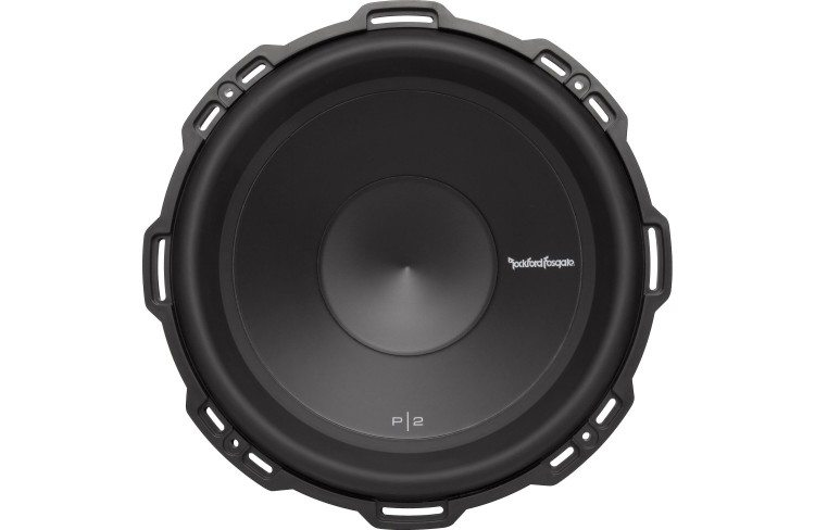 "Rockford Fosgate P2D4-12 12"" subwoofer front view"
