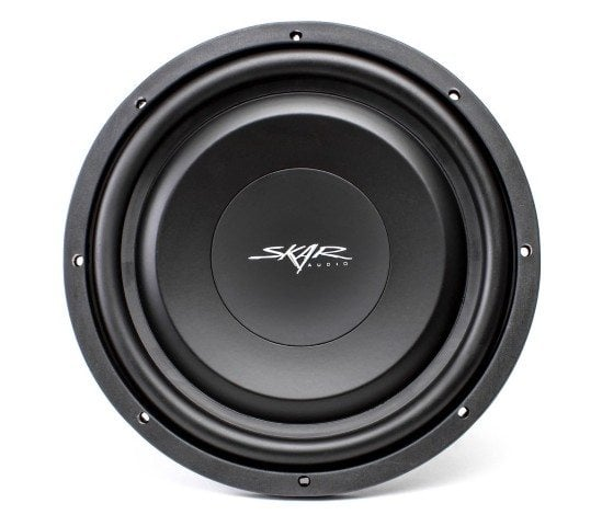 Skar Audio EV-12 shallow subwoofer front