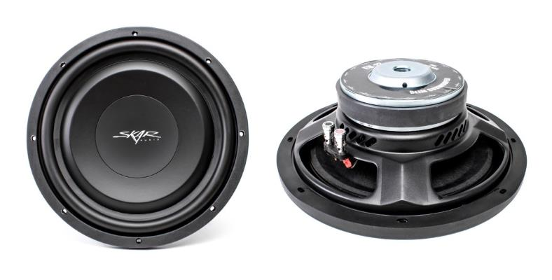 Skar Audio EV12 front and side product image
