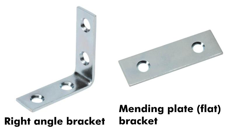 Car amp rack installation bracket examples