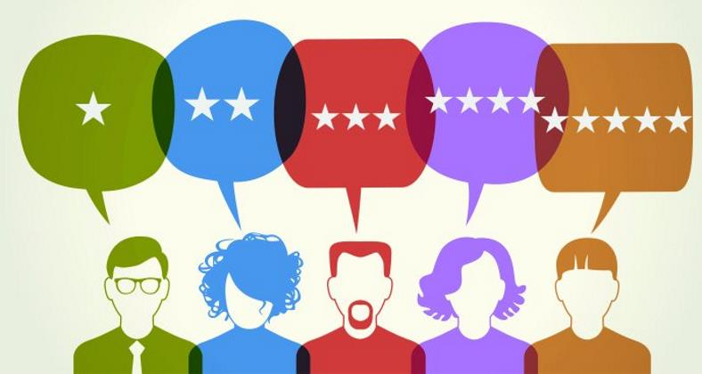 image of consumer reviews clip art