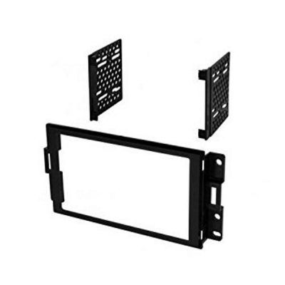 Example aftermarket double DIN installation kit