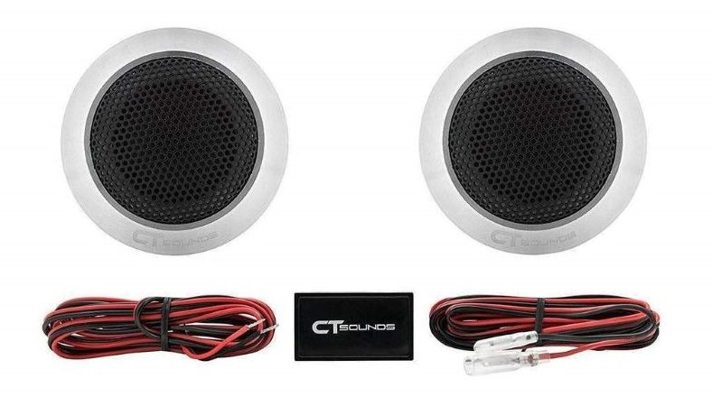 Image of CT Sound Meso aluminum car tweeters and accessories