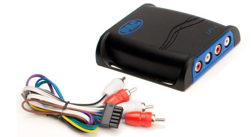 PAC LP7-4 4 channel line level converter