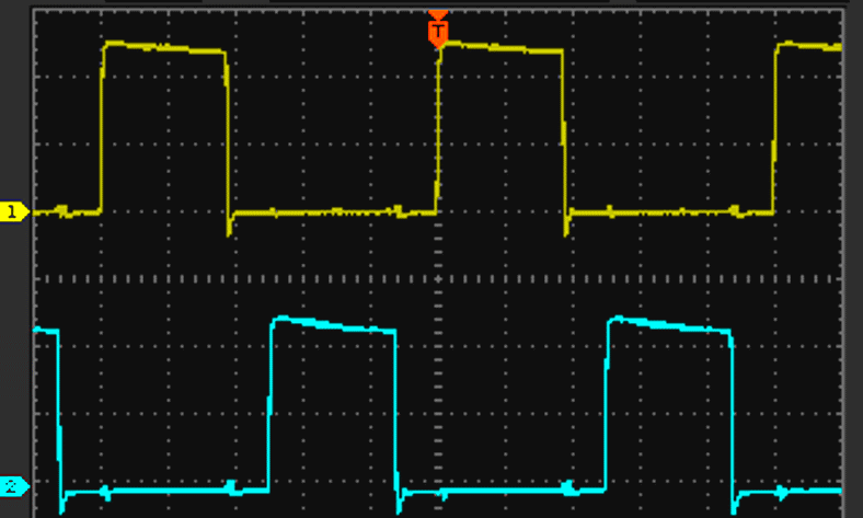 Car amp SMPS waveforms example image