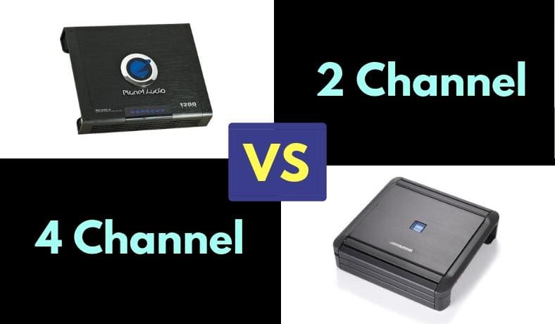 2 channel vs 4 channel amplifier image