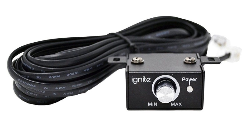 Ignite Audio R1600/1D bass remote closeup image