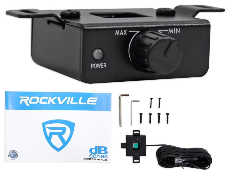 Rockville DB12 included items image
