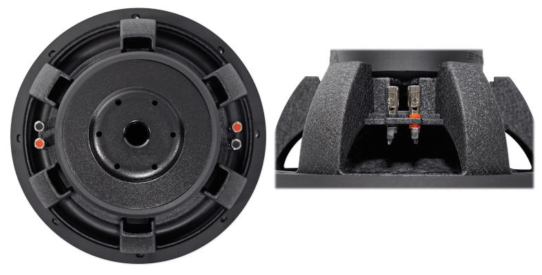 Rockville W12K6D4 car subwoofer rear and side product views #2