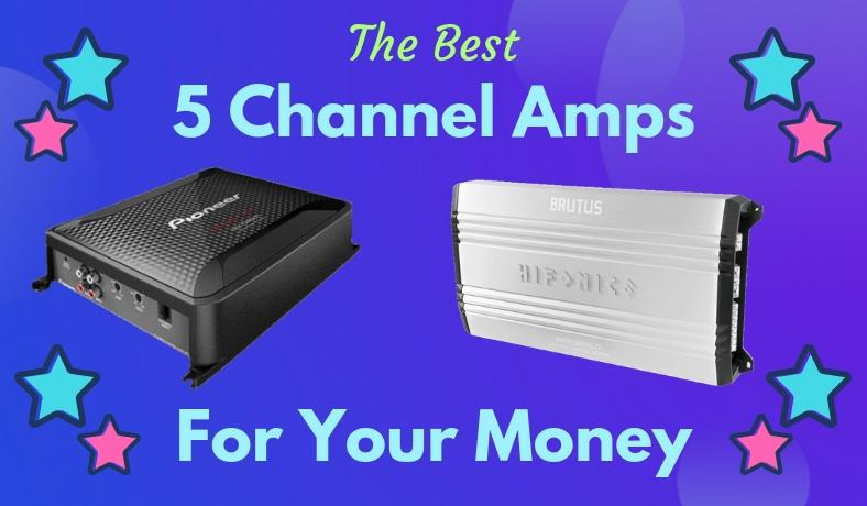 Best 5 channel amps for your money featured image