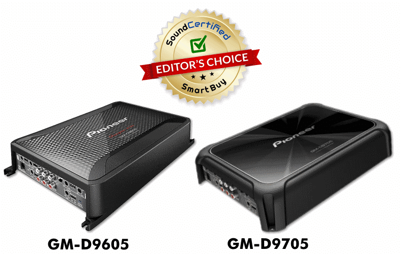 Pioneer GM-D9605 GM-D9705 Editor's Choice product review image