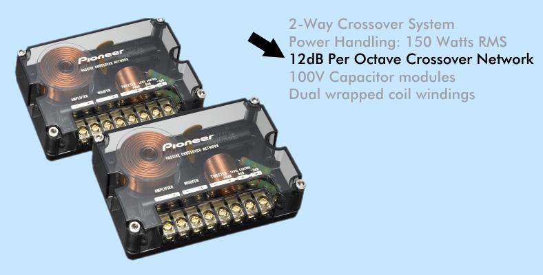 12dB per octave speaker crossover example image
