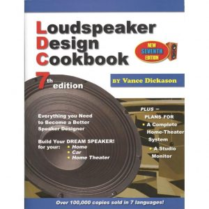 Product image of the Loudspeaker Design Cookbook by Vance Dickason