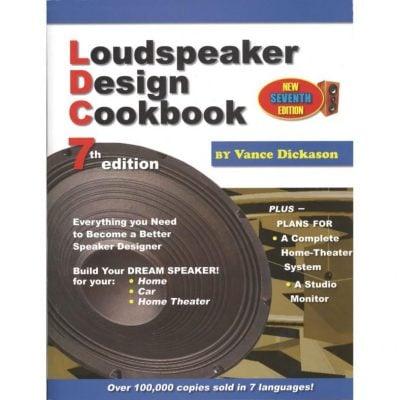 Product image of the Loudspeaker Design Cookbook by Vance Dickason