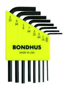 Bondhus 12232 8 hex wrench set