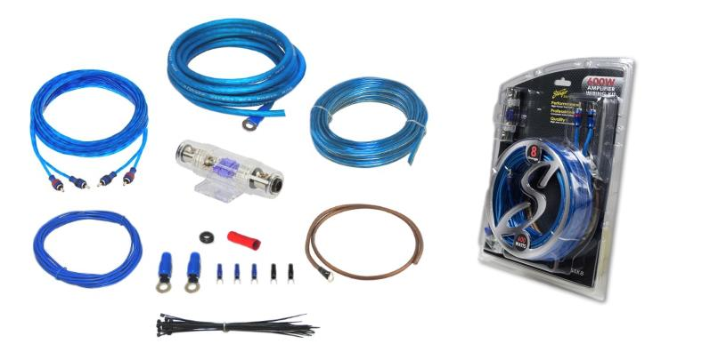 Full product image of Stinger SSK8 8 ga amp wiring kit with package