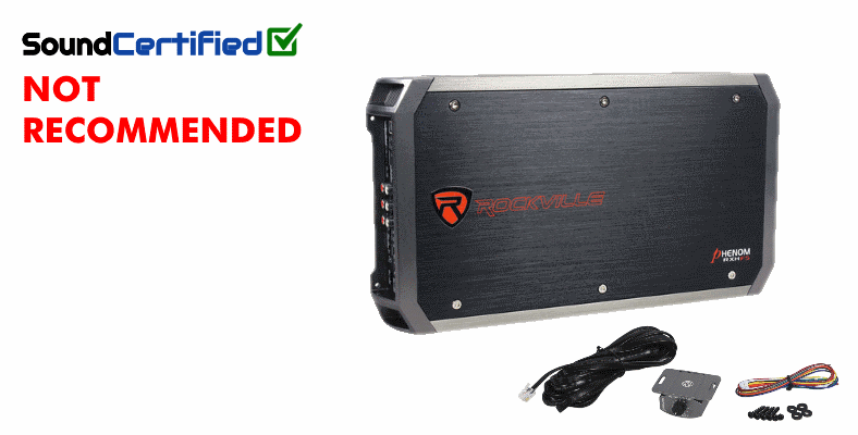 Sound Certified Rockville RXH-F5 review score summary image