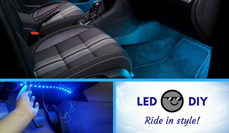 Car LED light strip installation guide featured image
