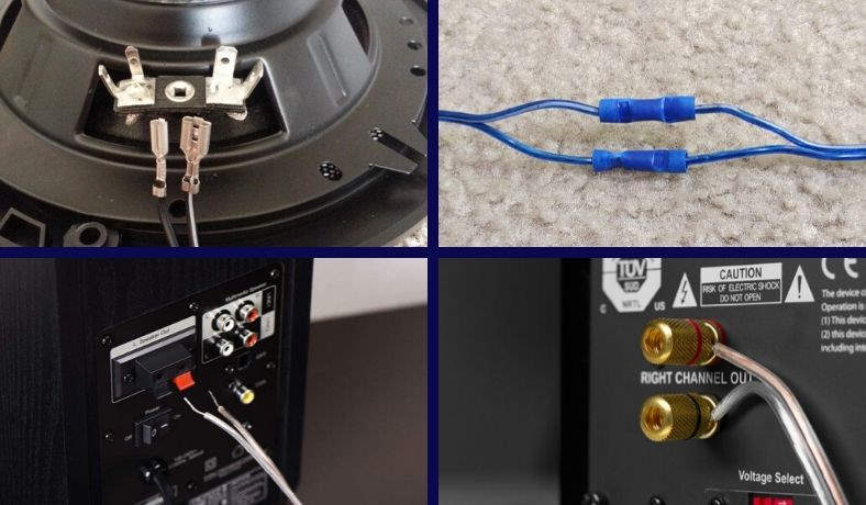 How To Connect Speaker Wire – A Detailed Guide For Everyone | Speaker Jacks Wiring |  | Sound Certified