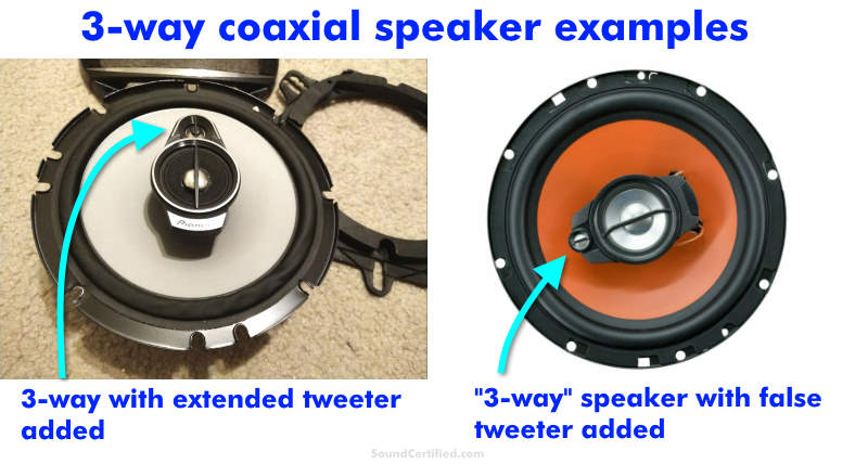3 way coaxial speaker examples image