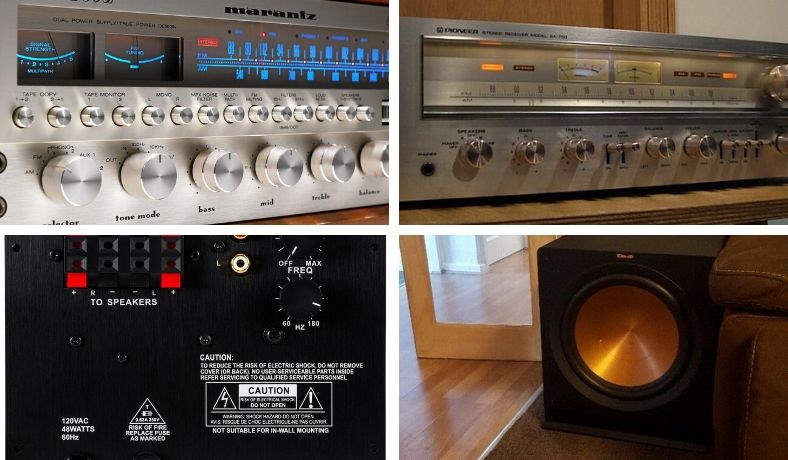 How to connect a subwoofer to old amplifier or vintage receiver featured image