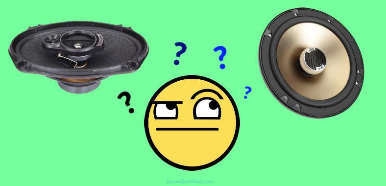 6x9 vs 6.5 inch speaker comparison