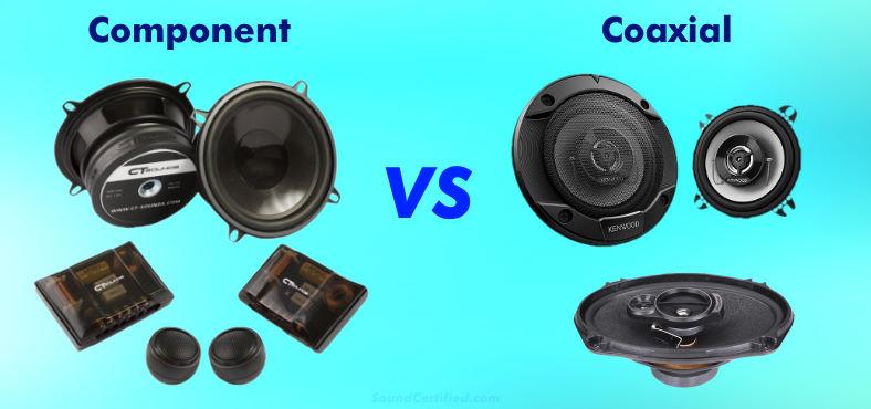 Component vs coaxial speaker comparison