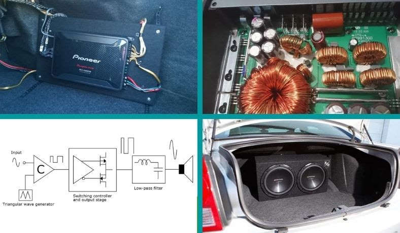 What is a class D car amplifier featured image