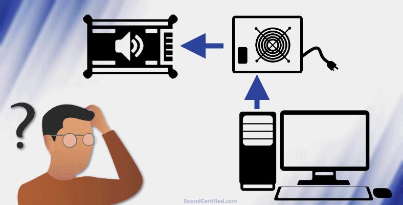 Can a computer power supply run a car amp man thinking question